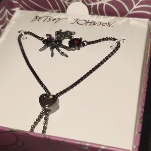 Betsey Johnson Spider Bracelet